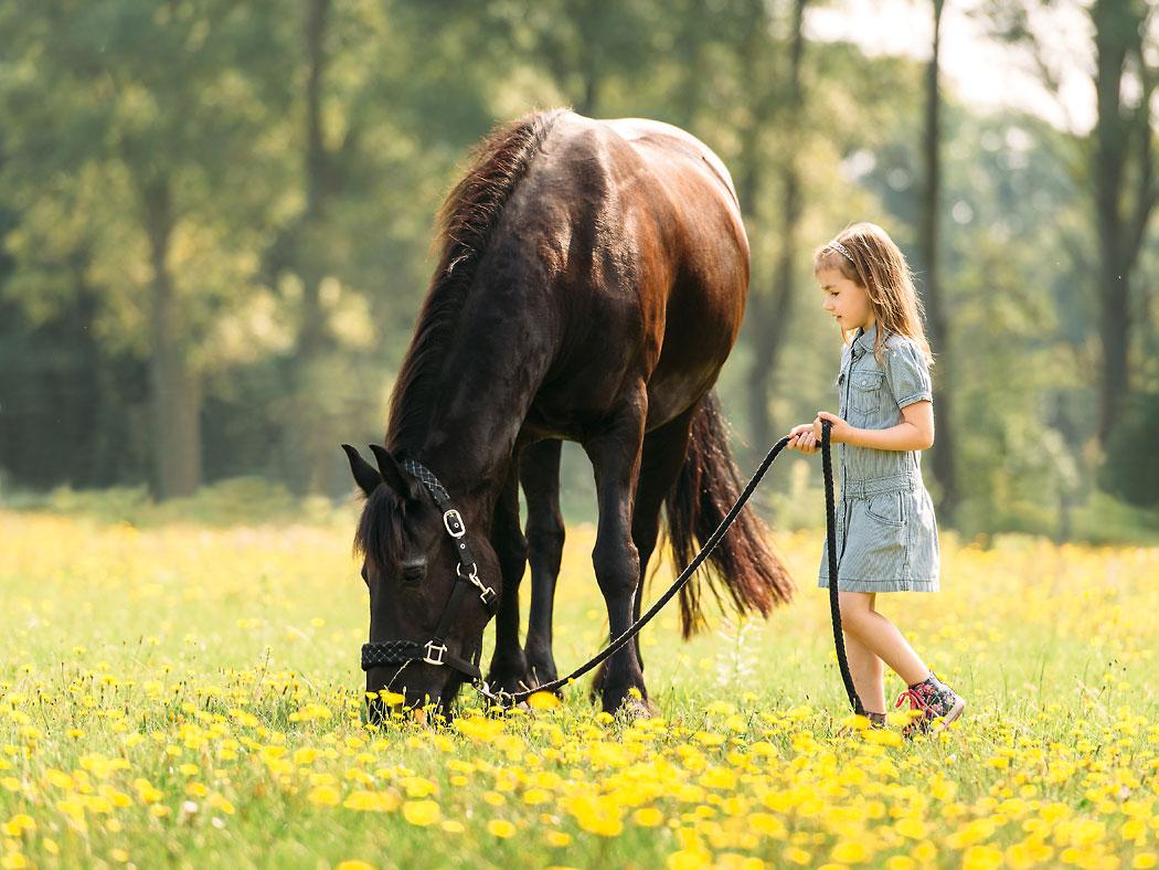 Braunschweig-Kinderfotografie-Pferd