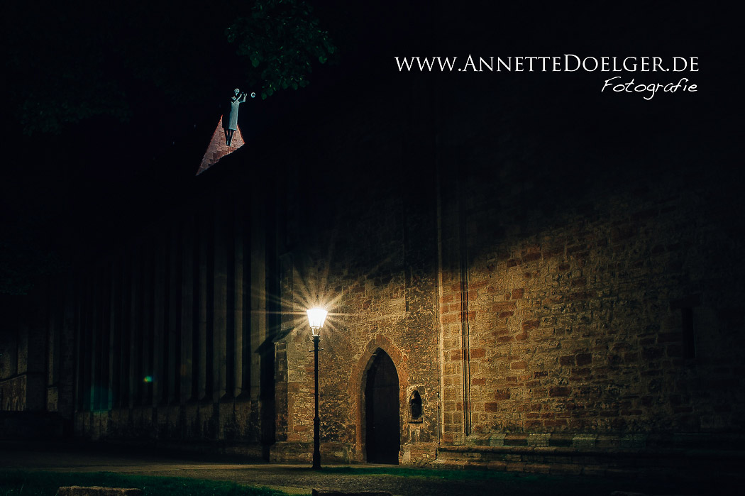 Der Turmbläser der Magnikirche
