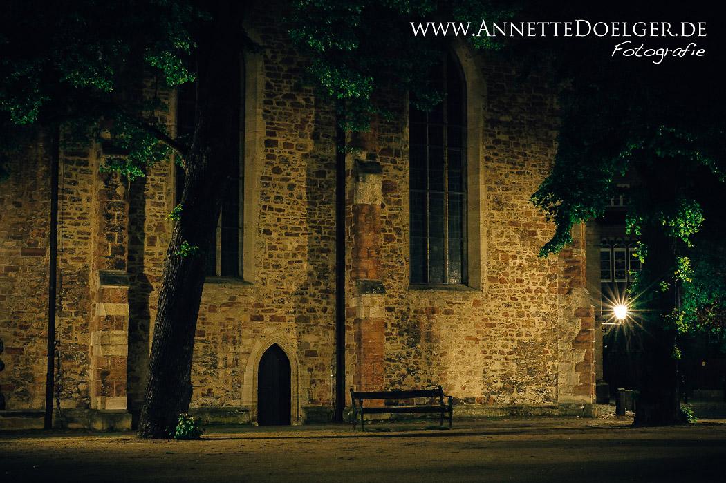 Die Magnikirche und der Kirchplatz