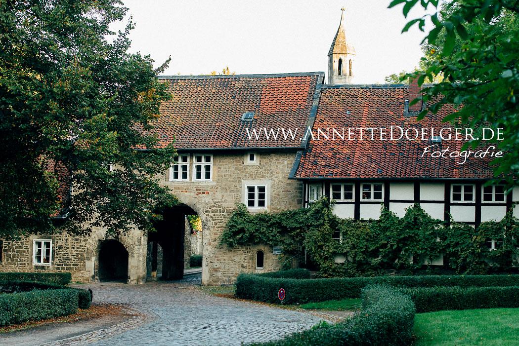 Braunschweig-Riddagshausen Torbogen am Klostergang