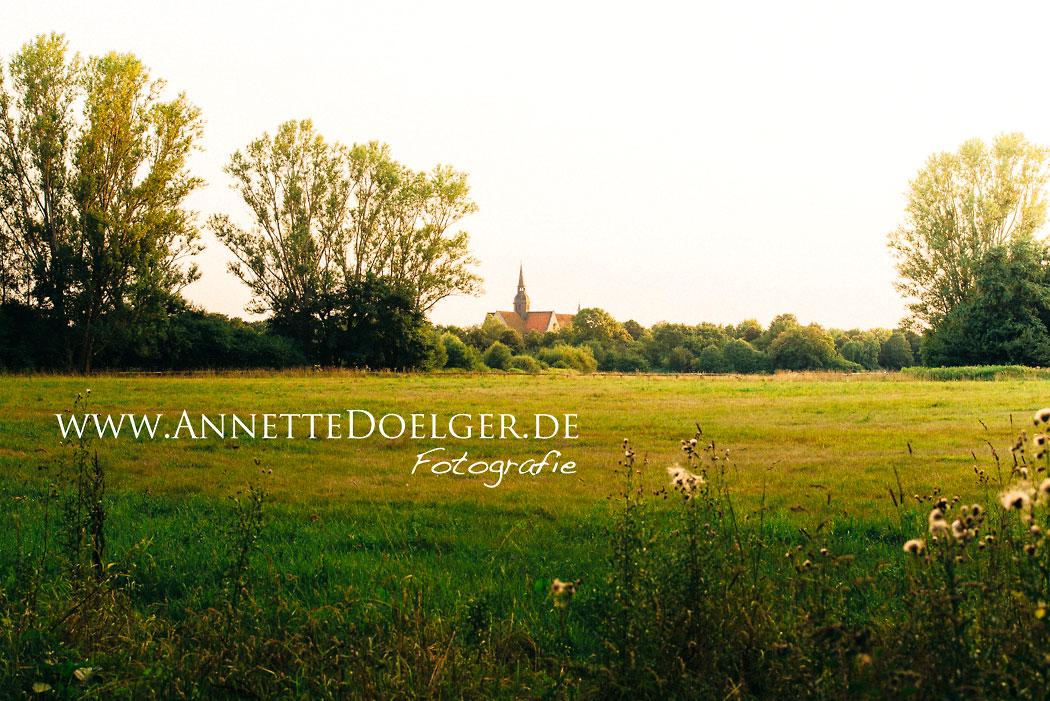 Braunschweig-Riddagshausen Landschaft um die Klosterkirche