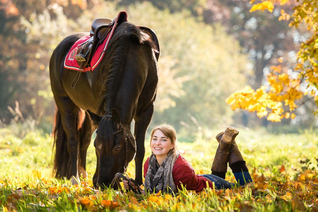 Braunschweig-Tierfotografie-Pferd-Herbst