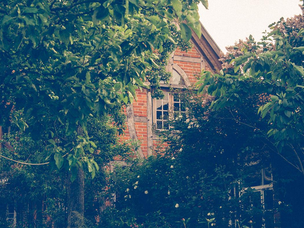Hitzacker Fachwerkfassade zum Garten