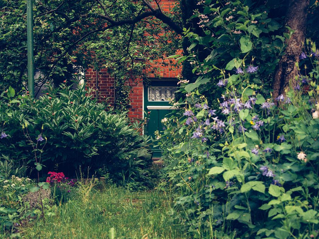 Hinterausgang zum Garten, Hitzacker