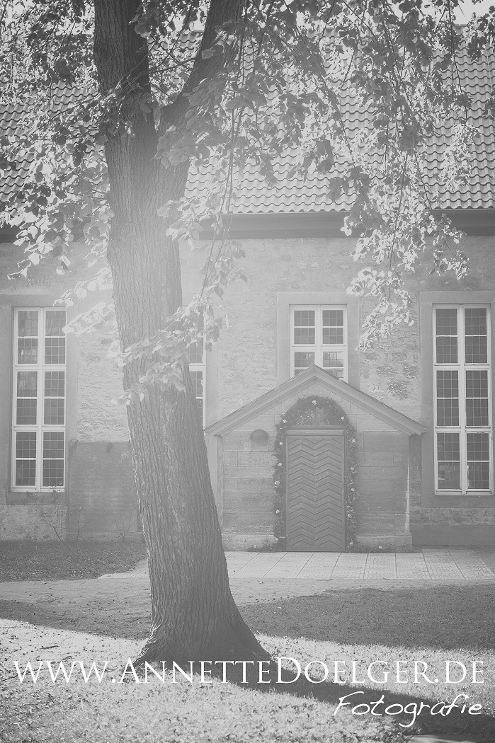 Heiligendorfer Kirchhof im Herbst