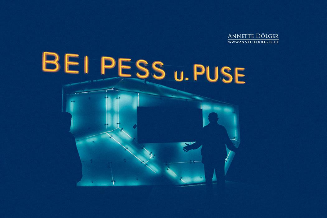 BEI PESS u. PUSE, Künstler Tobias Rehberger