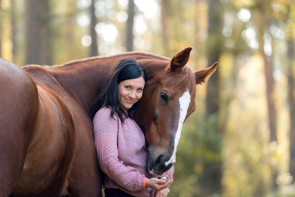 Pferdefotografie-Pferd-Frau